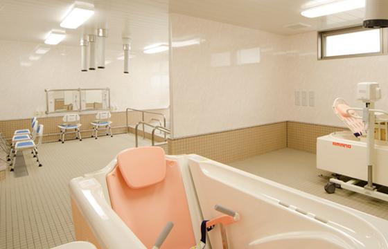 快適な入浴設備